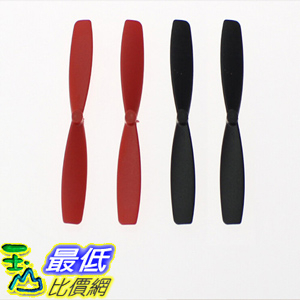 J1000螺旋槳JJ1000正反槳小四軸螺旋槳旋翼片葉片姐姐1000螺旋槳F180(1組4入) _E23