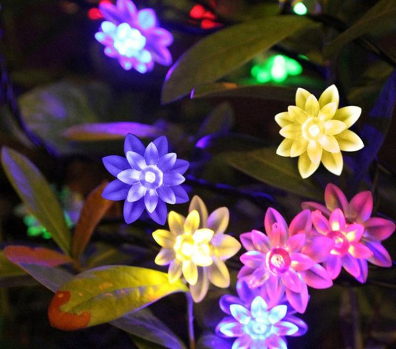 韓風童品12pcs組LED串燈吊飾樹葉雪花星星蓮花櫻花串燈飾品隨季節心情更換串燈裝飾物