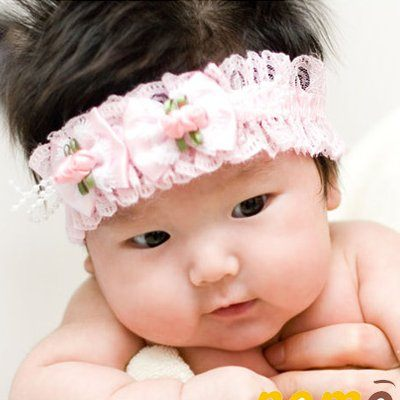 *甜蜜蜜親子童裝*韓單《四朵小玫瑰》公主款甜美髮帶