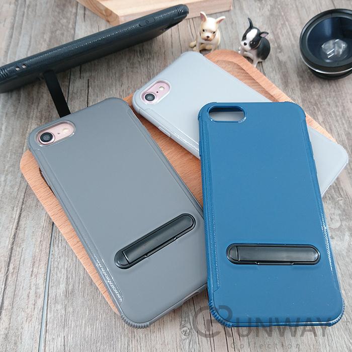細柔磨砂質感磁吸支架防摔手機殼iPhone X plus I8蘋果全包邊軟殼