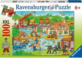 Ravensburger維寶100片拼圖-動物救援