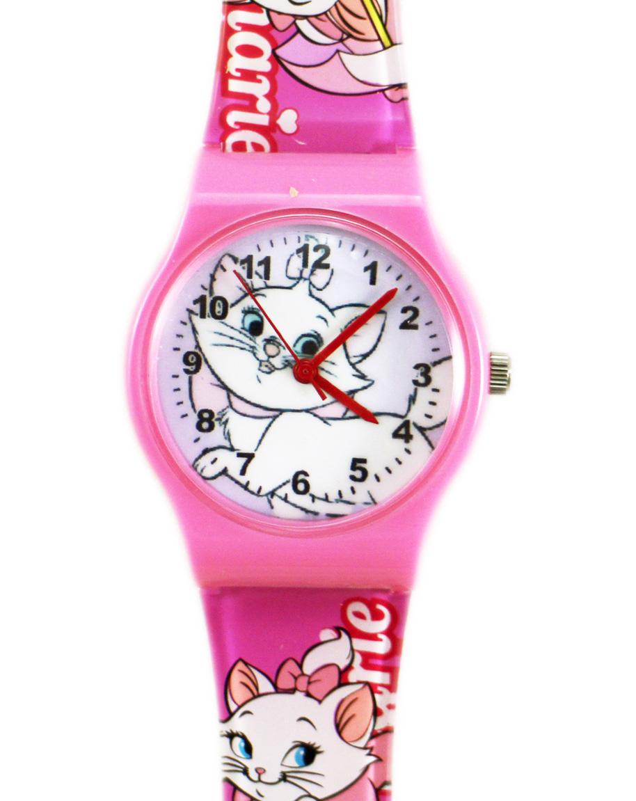 卡漫城瑪莉貓手錶大圖粉框版Marie瑪麗貓膠錶兒童錶女錶卡通錶2 6 0元