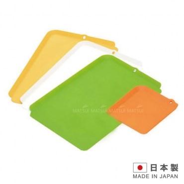 INOMATA日本製造彩色砧板4入