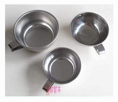 好幫手生活雜鋪*304附耳碗9CM-不鏽鋼碗.不銹鋼碗.環保碗.口杯.不鏽鋼便當盒碗.鋼杯