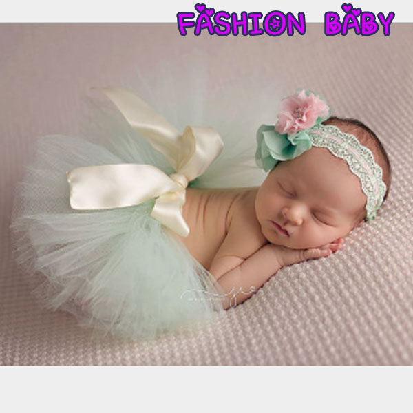兒童攝影服裝 新生兒蓬蓬裙 嬰兒兔兔裙 Fashion Baby