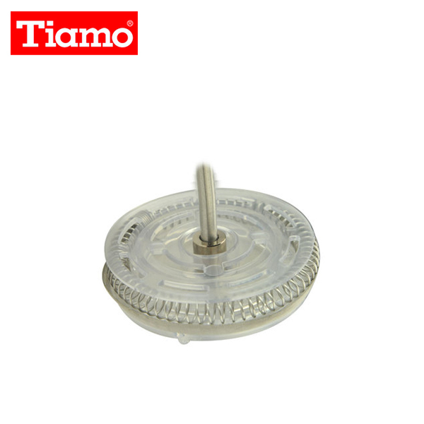 【TIAMO】玻璃奶泡杯零件(上塑料 彈簧 濾網 下塑料)