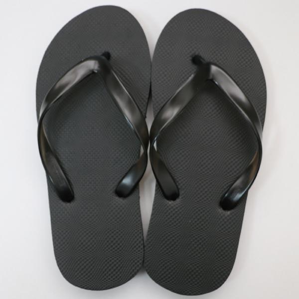 EVA素色人字拖鞋 男款-黑|台製海灘拖 台灣製 人字拖 沙灘拖 夾腳拖 拖鞋 室內室外 兩用