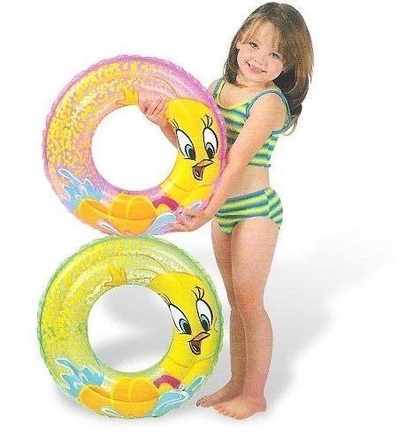 [衣林時尚] INTEX 20吋 華納翠迪鳥游泳圈(51cm) (綠) 建議3-6歲