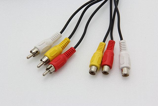 【鼎立資訊】明視 AV 3對3 延長線 影音 訊號線 1.5米