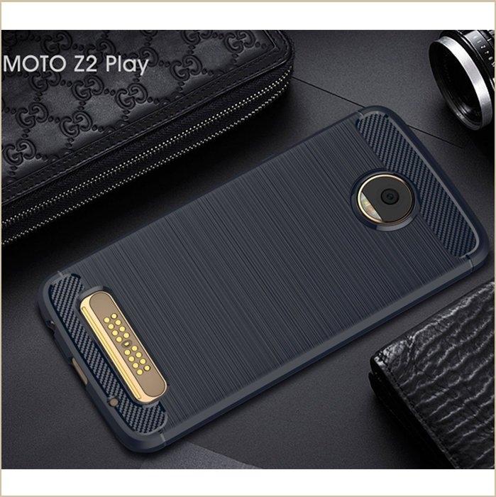 碳素拉絲紋 摩托羅拉 MOTO Z2 Play 手機殼 拉絲紋 防摔 抗震 透氣 MOTO Z2 Play 軟殼 全包邊 矽膠套