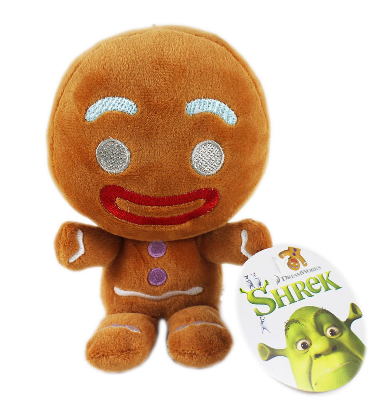 【卡漫城】 薑餅人 玩偶 16CM ㊣版 Gingy 史瑞克 Shrek 絨毛 娃娃 吊飾 布偶 擺飾 附吊繩
