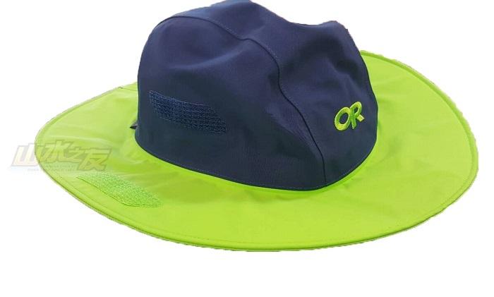 山水網路商城美國OR雜字款GTX防水透氣大盤帽OR82130防水透氣吸濕排汗限量款藍綠色
