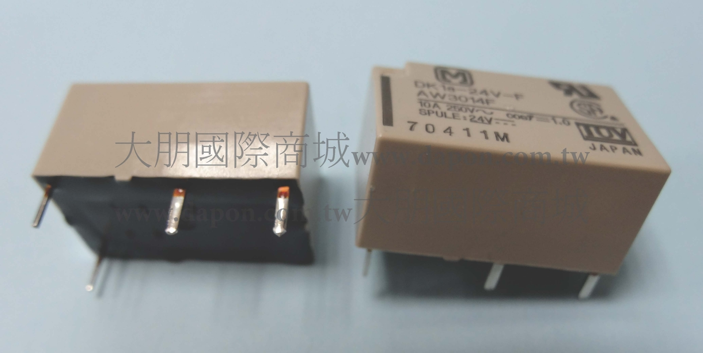 *大朋電子商城*Panasonic DK1A-24V-F 繼電器Relay(5入)