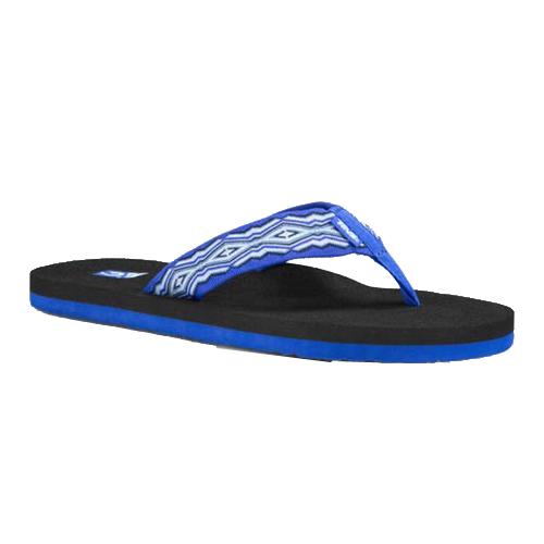 TEVA  Mushroom 經典織帶 超柔軟 夾腳運動拖鞋-4168QNBL