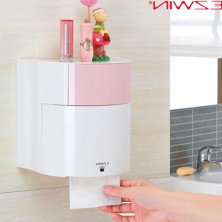 紙巾盒創意衛生間廁所紙巾盒免打孔衣衣布舍