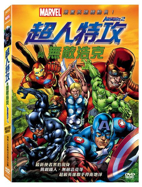 超人特攻與無敵浩克 動畫 DVD (音樂影片購)