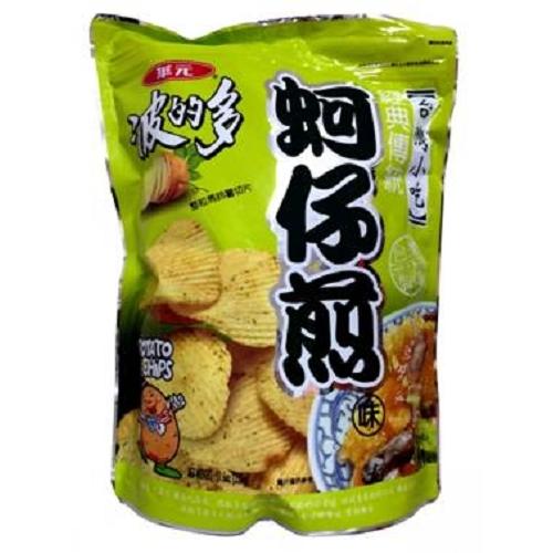 華元華元波的多洋芋片-蚵仔煎味315g愛買