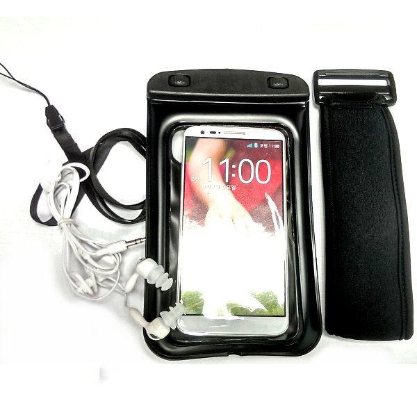 LG G2漂浮防水袋游泳LG G2 16G 32G運動防水臂套內建3.5mm耳機孔送防水耳機可加裝保護殼防水套