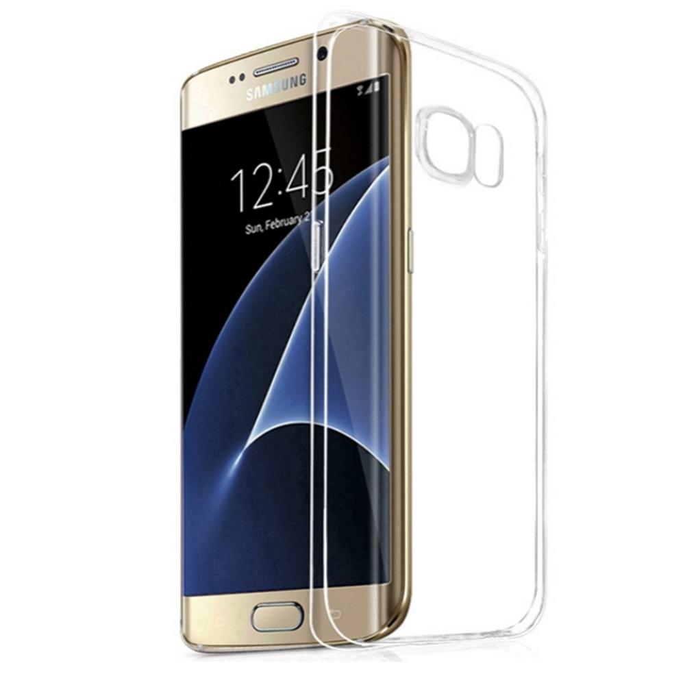 三星Samsung Galaxy S7 edge輕薄透明TPU高質感軟式手機殼保護套高透光材質微凸鏡頭保護設計