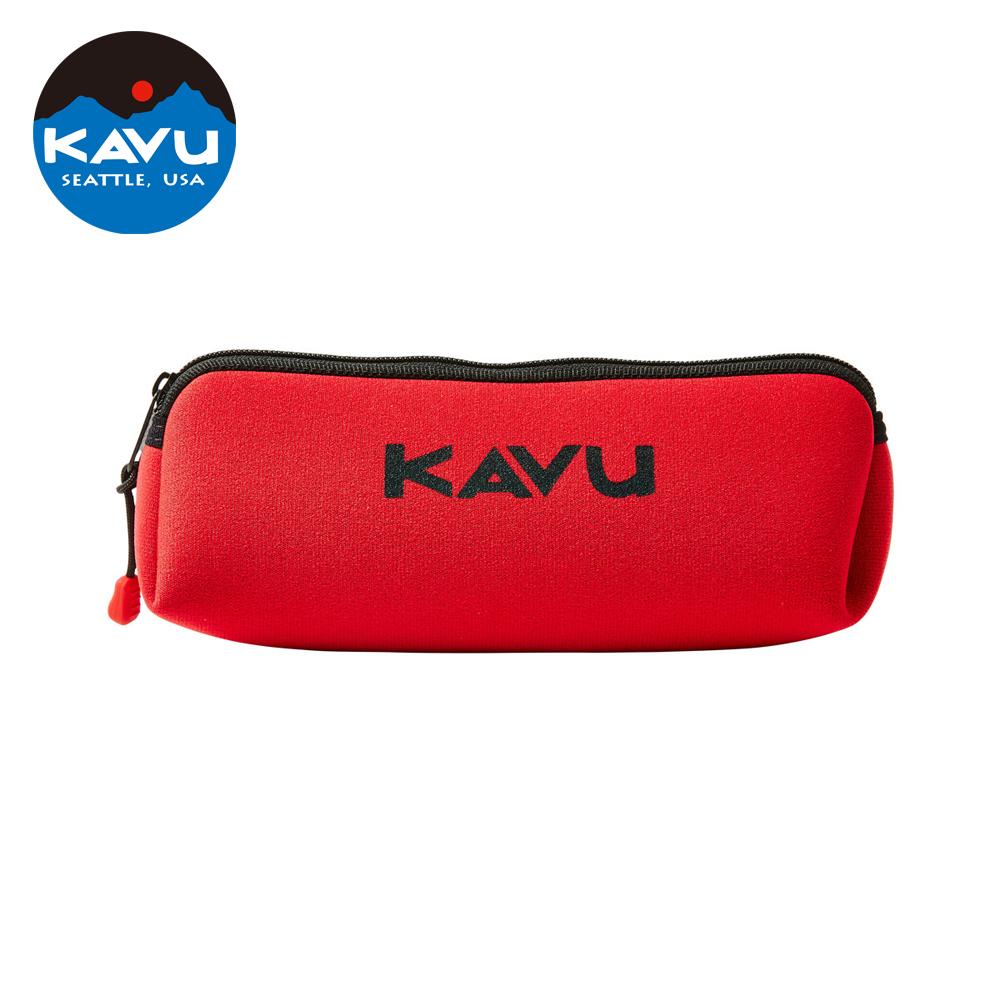 日本限定款西雅圖KAVU Pen Case鉛筆袋紅色70448