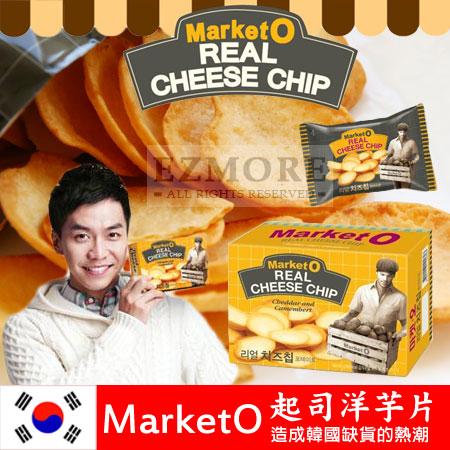 韓國Market O起司洋芋片62g超厚洋芋片好麗友李昇基推薦