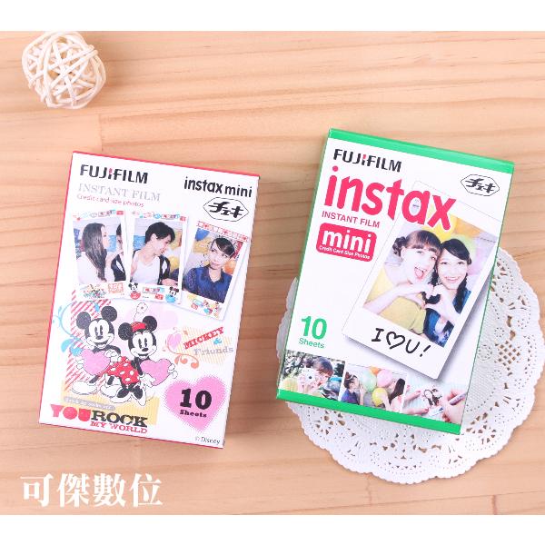 可傑 富士 mini 拍立得 空白底片 米奇與好朋友 底片套餐 FUJIFILM INSTAX 適用mini系列