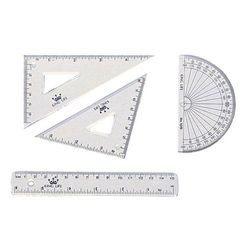 《☆享亮文具☆》KS-115  K.L組合定規(小)15cm  Life