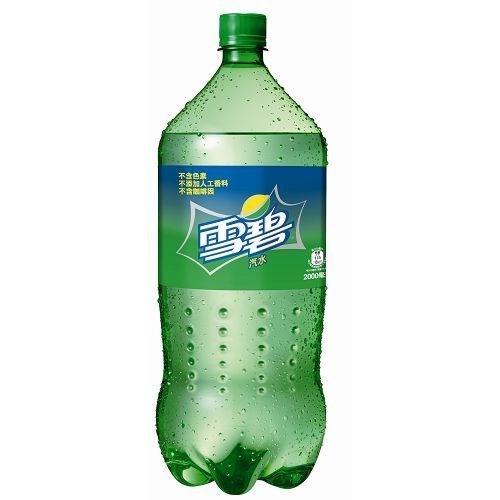 雪碧汽水寶特瓶2000ml愛買