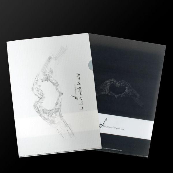 【小叮噹的店】全新 香港 MD FD0002 L夾 文件夾 MD品牌 全新 愛音樂 香港進口 精品 D3