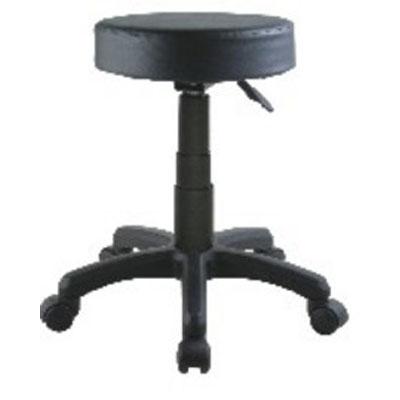 【必購網OA辦公傢俱】 CP-207B黑色/低吧椅(活動輪) 吧檯椅 美髮店用