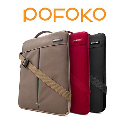 【加也】POFOKO_Coolbeen系列 13.3吋 直立式側背包