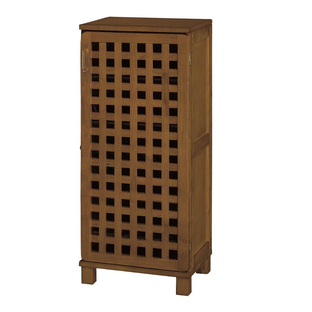品味玩家- 實木歐亞1.5尺鞋櫃/收納櫃 附門鞋櫃
