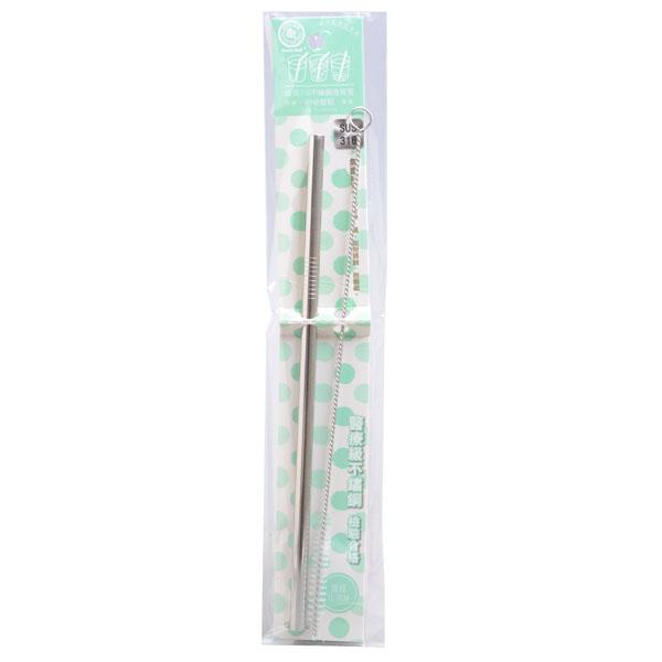 【Green Bell 綠貝】#316不鏽鋼直吸管/彎吸管 1入
