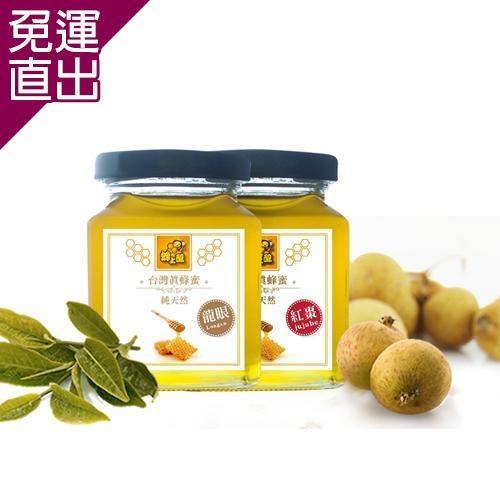 蜂上醇 台灣蜂蜜-蜂上醇 紅棗蜜 2瓶(250ml/瓶)【免運直出】