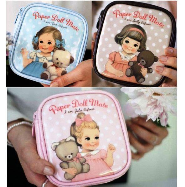 想購了超級小物超萌系可愛洋娃娃化妝包化妝品收納包手拿包韓國熱銷小物