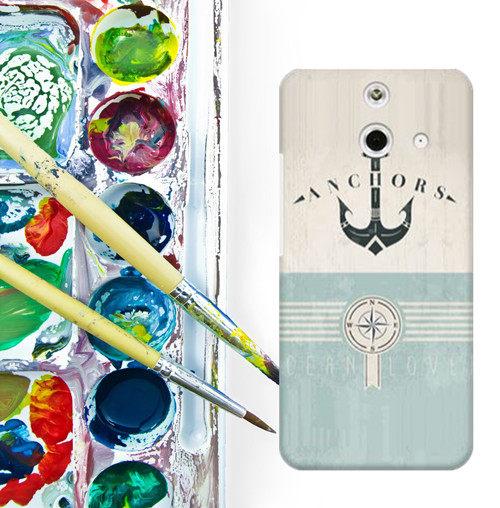 ✿ 3C膜露露 ✿ HTC One E8【海軍風*水晶硬殼 】手機殼 保護殼 保護套 手機套
