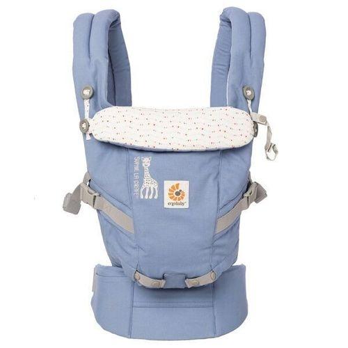 美國Ergobaby 360度四向寶寶揹巾背巾背帶-長頸鹿聯名款2年保固衛立兒生活館