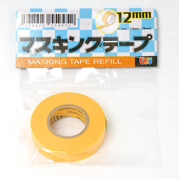 Amuzinc酷比樂 台灣製造 塑膠模型專用 和紙膠帶 12mm*18m