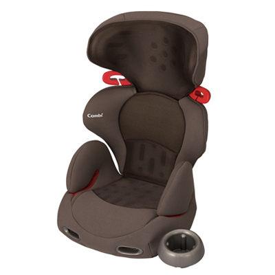 Combi New Buon Junior成長型安全座椅-網眼棕