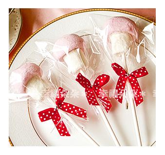 幸福朵朵義大利超好吃~蘑菇造型大棉花糖二次進場送客喜糖生日畢業來店禮婚禮小物