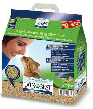 寵樂子德國凱優CAT S BEST強效凝結除臭木屑砂黑標8L