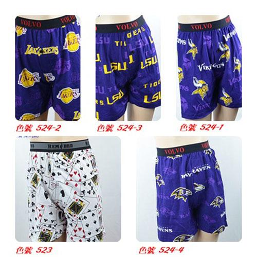 (6件組  $498) 超薄棉質印花長版大男童鬆身平腳內褲  (點選滿6件可出貨)
