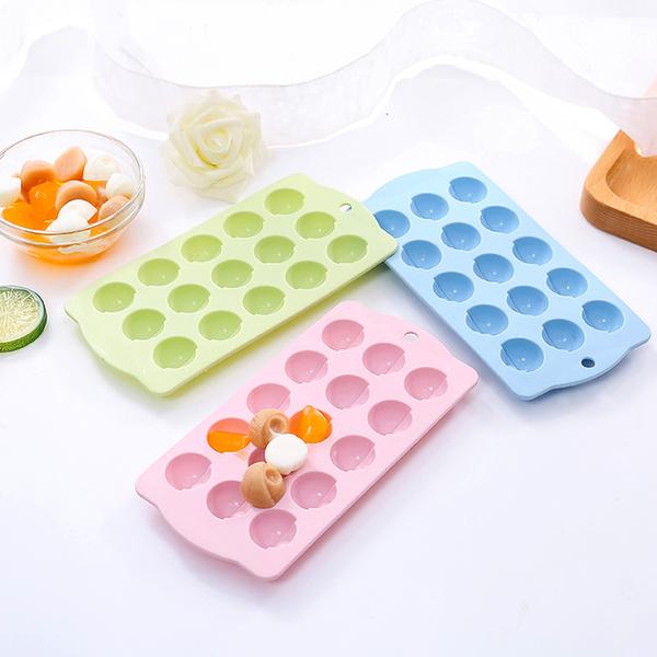 家用冰塊模具冰塊盒制冰盒創意做無毒矽膠凍帶蓋制冰冰模凍冰冰格─預購CH1463