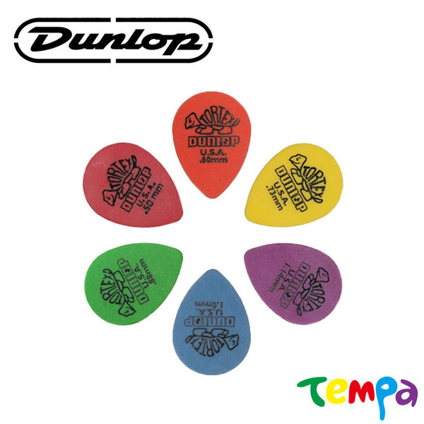 快速出貨-【Tempa】Dunlop tortex pick-small tear drop