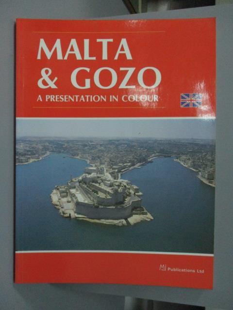 【書寶二手書T8/旅遊_ZAI】Malta & Gozo