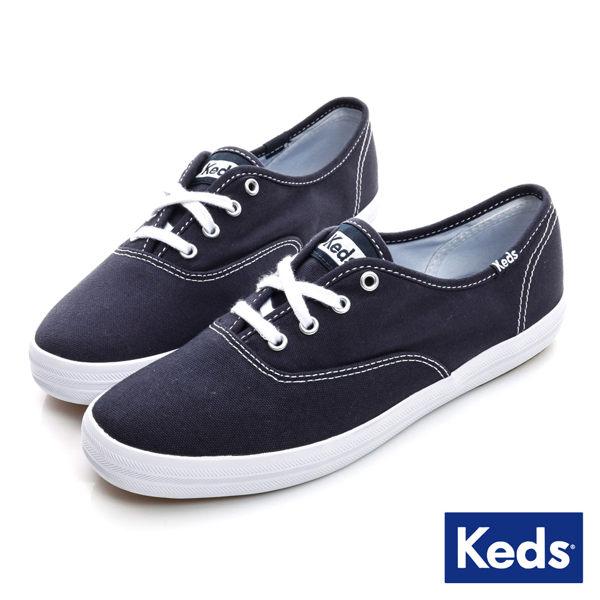 Keds 女款深色品牌經典帆布鞋-NO.KB5600