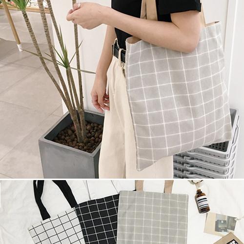 99購物節 帆布袋 手提包 帆布包 手提袋 環保購物袋-單肩【SPYJ7305】 ENTER  05/11