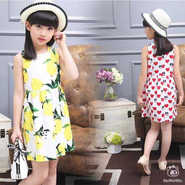 中大童短袖洋裝連身裙背心裙小禮服童裝FM31902好娃娃