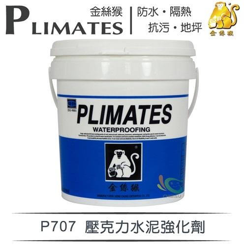 【漆寶】金絲猴│壓克力水泥強化劑P-707(1加侖裝)