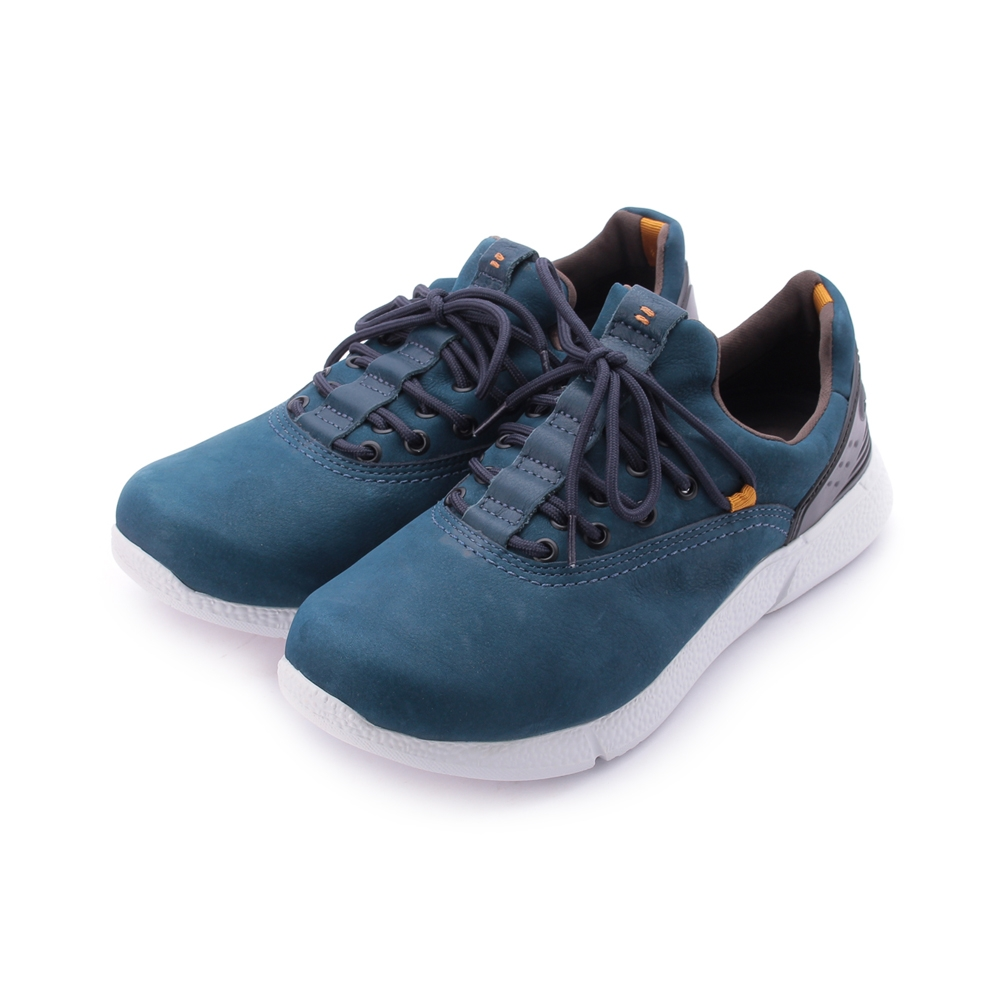 巴西KILDARE WAXY BLUE 蠟感皮革休閒鞋 藍 AL382-BL 男鞋